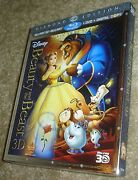 Beauty And The Beast Blu-ray/dvd, 2011, 5-disc Set, Diamond Editionnew,sealed