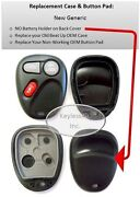Case Replacement Shell Button Pad Fits 15732803 Keyless Entry Remote Transmitter