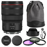 Canon Rf 24-70mm F/2.8l Is Usm Lens + Deluxe Accessory Kit