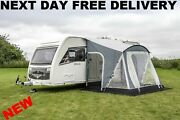 New 2021 Sunncamp Swift 220 Sc Caravan Porch Awning With Rear Upright Pads