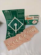 1964 Baltimore Orioles Baseball Card Game 36 Cards Ed-u-cards - Complete