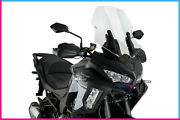 Puig Windshield Touring For Kawasaki Versys 1000 Tourer Plus 19-20 Clear