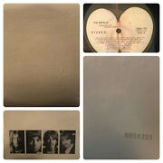 The Beatles The White Album Lp 33 Swbo-101 2 Lps 1968 Vintage - With All Art.