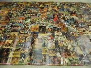 Sports Illustrated Collage-orr Namath Ali Reed Laver Carew 1970's Vintage And Huge