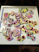 Disney Refrigerator Magnets Lot Of 20 Minnie And A Few Of Her Friends