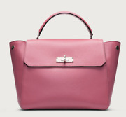 Bally B Turn Everyday/16 In Candy Calf Grained Leather
