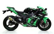 Arrow Kawasaki Zx-10r/ Zx10rr Competition System With Race Tech Silencer71167cp