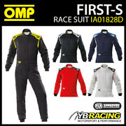 Ia01828d Omp First-s Race Suit Entry Level Clubman Fireproof Fia 8856-2018