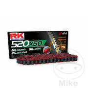 Bmw G 650 Gs Abs 2014 Rk 520 Xso X 112 Red X-ring Chain
