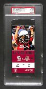Emmitt Smith 164 Td Nfl Record Signed Autographed 2004 Cardinals Ticket Psa