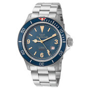 Glycine Gl0260 Menand039s Combat Sub Vintage Automatic 42mm Watch