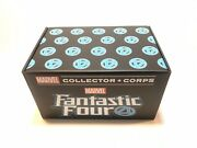 Marvel Collector Corps Fantastic Four Funko Pop Box Human Torch Sealed Size 2xl