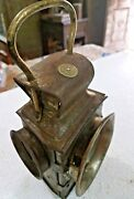Wwii Era Pandh Powell And Hanner Bicycle Light Lamp England Automobile Collection