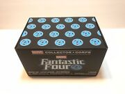 Marvel Collector Corps Fantastic Four Funko Pop Box Human Torch Sealed Size L