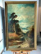 Clarence Henry Roe 19th Century Landscape Oil Painting