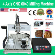 4axis Cnc 6040 Engraver Mach3 Usb Router Frame Cutting Milling Engraving Machine