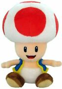 Plush Toad 8 Inch Various Colors