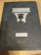 College Yearbook The 1923 Columbian First Edition Featuring Lou Gehrig