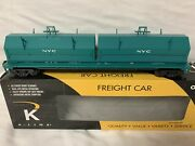 ✅k-line By Lionel New York Central Steel Coil Car O Scale Mill Penn Nyc Freight