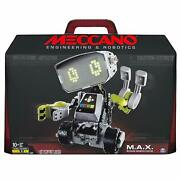 Meccano Erector M.a.x Robotic Interactive Toy With Artificial Intelligence New