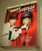 The Abbott And Costello Show The Complete Series Dvd, 2010, 9-disc Set, New