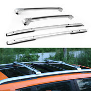 4pc Fit For Jeep Renegade 2015 - 2019 Baggage Luggage Roof Rail Racks Cross Bars