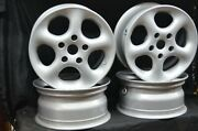 Alessio Sport 15and039and039 Wheels Rims 5 Spoke Aluminum 5x120 7jx15h2 R148 Et35 Set 4