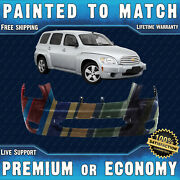 New Painted To Match Front Bumper Replacement For 2006-2011 Chevrolet Chevy Hhr