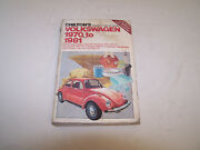 Volkswagen Repair And Tune-up Guide 1970-81 All Models - Chiltons