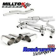 Milltek Bmw M2 Competition Exhaust Cat Back System Race And Gpf Bypass Polish Tips