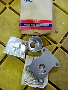 Omc Johnson Evinrude Water Pump Cup And Plate P/n 389114 394711 Nos
