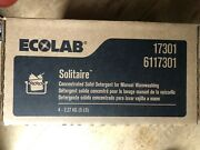 Ecolab Solitaire 6117301 Concentrated Solid Detergent. Case Of 4 Free Ship