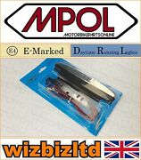 Bsa 650 A10 Super Flash 1954 Motorcycle [e-marked] [day Time Running Light] Drl
