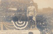 Rp Indianapolis Indiana 1907 Teddy Roosevelt Unveils Lawton Statue