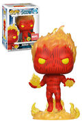 Funko Pop Marvel Fantastic Four 572 572 Human Torch Glow Collector Corps New