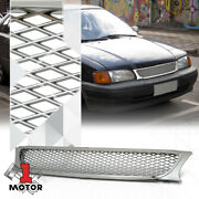 For 1995-1997 Toyota Tercel {x-mesh} Chrome Abs Front Upper Bumper Grille/grill