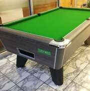 6ft/7ft Supreme Winner Coin Operated Slate Bed Pool Table Rustic Finish