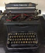 Vintage 1930s Lc Smith And Corona Typewriter For Spares And Repairs