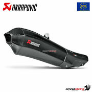 Akrapovic Exhaust Approved Carbon Fibre For Yamaha R1 / R1m 20152016