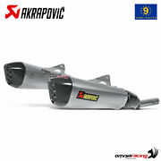 Akrapovic Exhaust Euro4 Approved Titanium For Bmw K1600gt /gtl 20112019