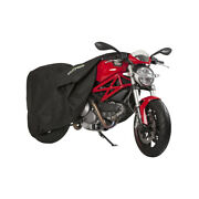Ds Covers Fox Elasticated Indoor Dust Dirt Garage Motorcycle Cover - Xl