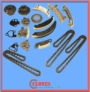 Engine Timing Chain Kit Cloyes 96 Link Lower Primary/114 Link Upper Secondary