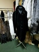 New Mens Fur Coat Made From Real Mink Fur