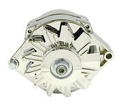 Racing Power Co-packaged Gm Alternator V-belt Pul Ley 1-wire 100amp-chrome R3902