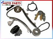 Engine Timing Chain Kit + Water Pump For Sentra And Altima 02-06 L4 2.5l Qr25de