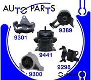 Eng Motor And Trans Mount 5pcs For Acura Mdx 03-06 And Honda Pilot 05-08 3.5l / Hydr