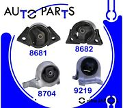 Eng Motor And Trans Mount Set 4pcs For Nissan Altima 2.4l 1993-2001 For Hyd Auto.t