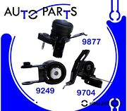 Eng Motor And Trans Mount Set 3pcs For Toyota Yaris 1.5l 2006-11, 15-16 /autot Hyd
