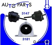 Engine Motor Mount Set 3pcs For Chrysler Pacifica 3.8l, 4.0l 2007-2008 Hydraulic