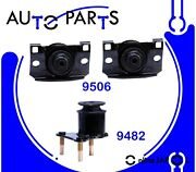 Eng Motor And Trans Mount 3pcs For Nissan Nv1500, Nv2500 And Nv3500 4.0l 2012-19 Hyd